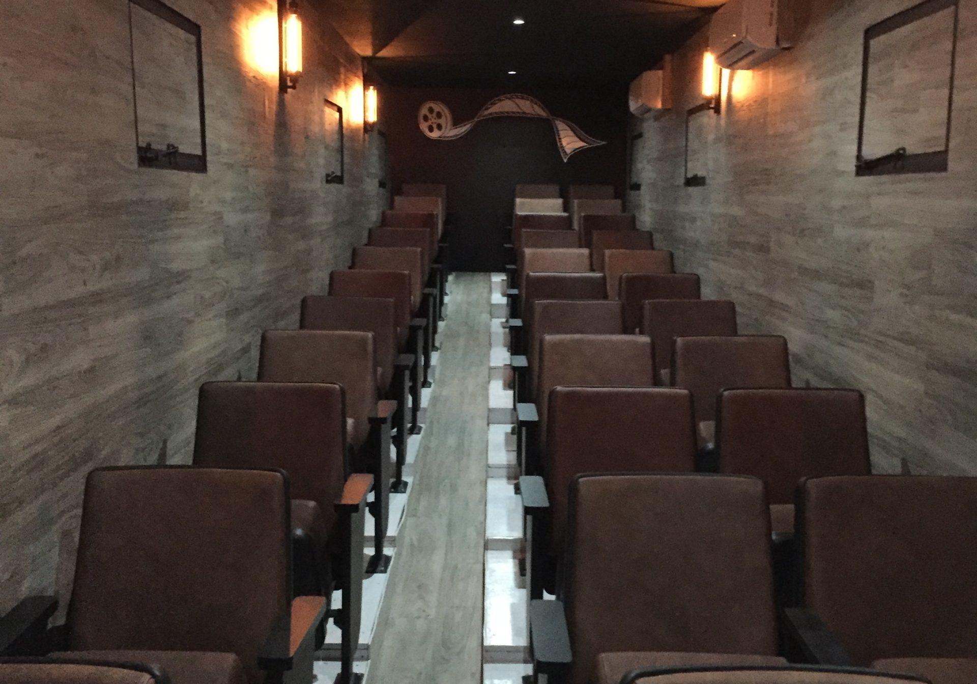 Cinemóvil interior
