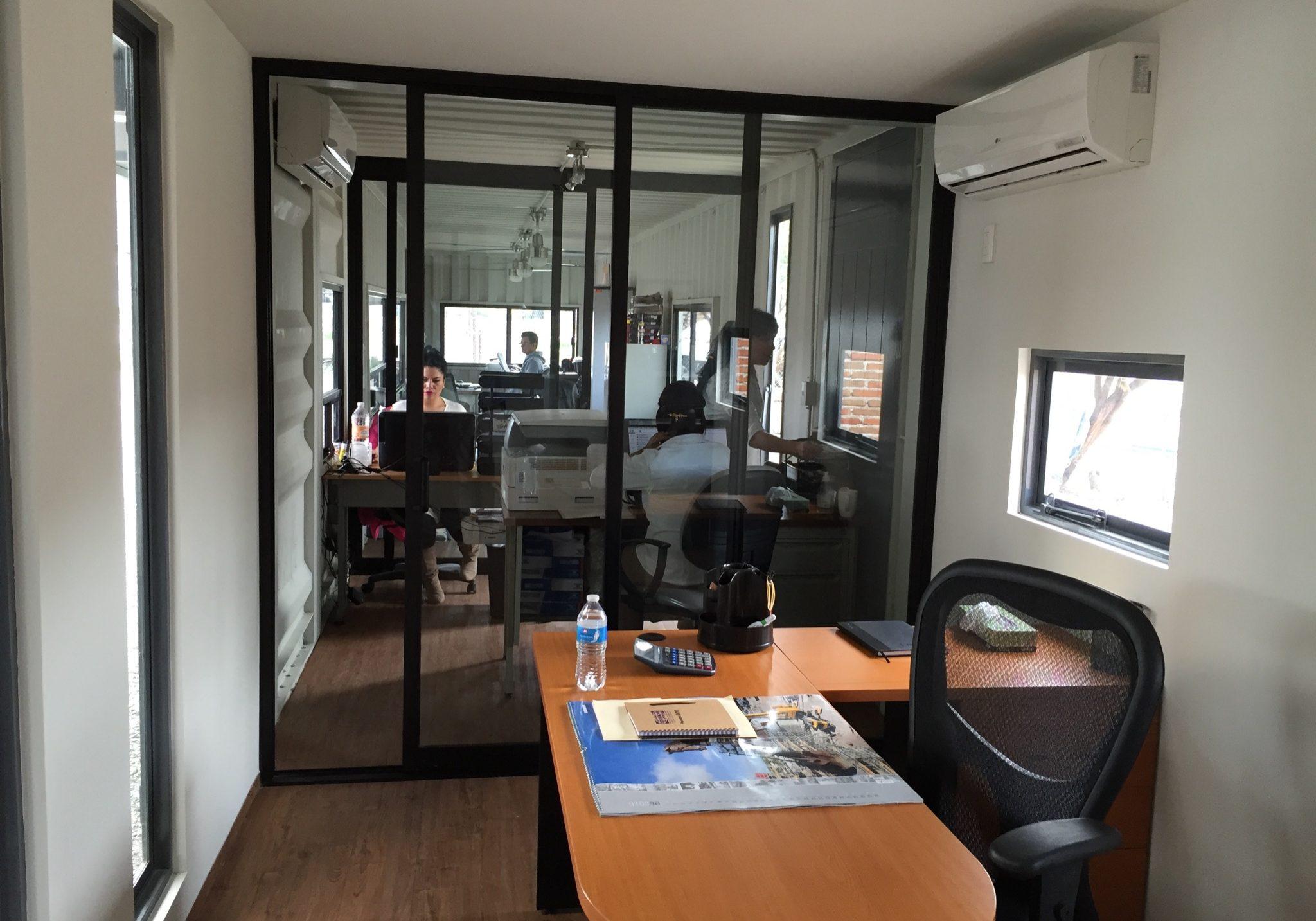 Interior oficinas